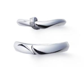 俄 NIWAKAの最新結婚指輪